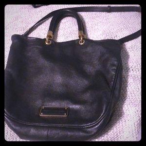 MARC JACOBS - Black leather bag